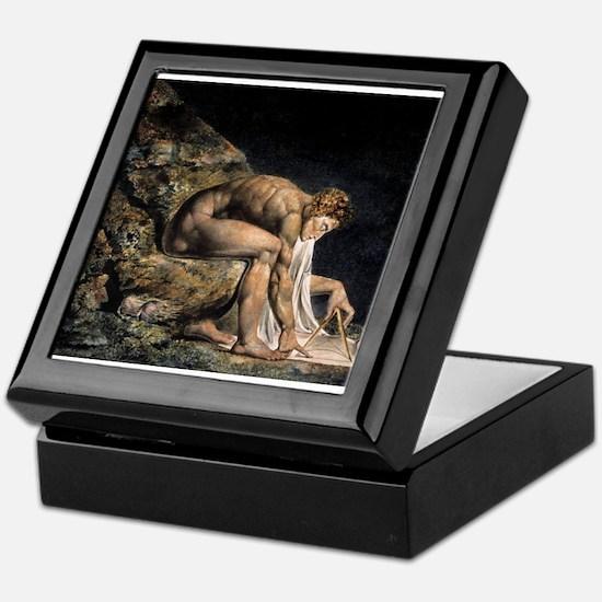 Isaac Newton Keepsake Box
