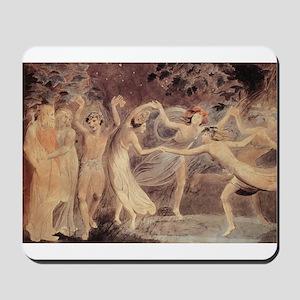 Oberon, Titania, Puck with Fa Mousepad
