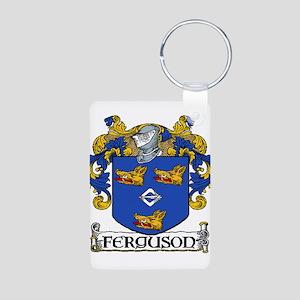 Ferguson Coat of Arms Aluminum Photo Keychain