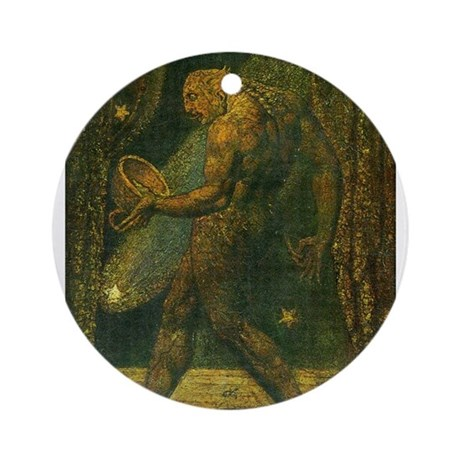 The Ghost of a Flea Ornament (Round)
