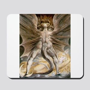 The Great Red Dragon Mousepad