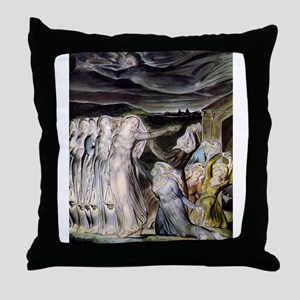 The Wise and Foolish Virgins Throw Pillow