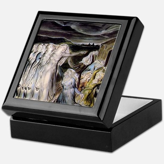 The Wise and Foolish Virgins Keepsake Box