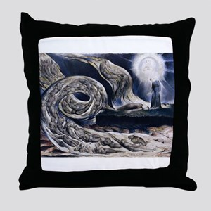 Whirlwind of Lovers Throw Pillow