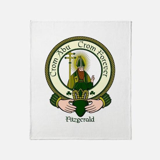 Fitzgerald Clan Motto Throw Blanket