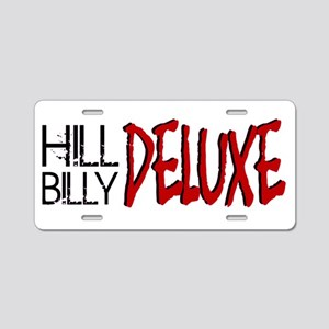 Hillbilly Deluxe Aluminum License Plate