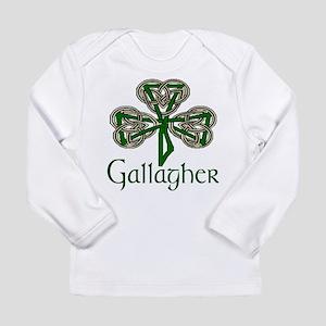 Gallagher Shamrock Long Sleeve Infant T-Shirt