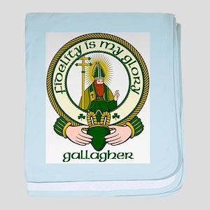 Gallagher Clan Motto baby blanket