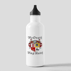 McGrath In Irish & English Stainless Water Bottle