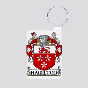 Hamilton Coat of Arms Aluminum Photo Keychain