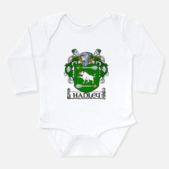 Hanley Coat of Arms Long Sleeve Infant Bodysuit