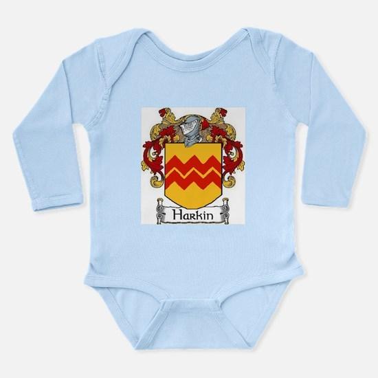 Harkin Coat of Arms Long Sleeve Infant Bodysuit