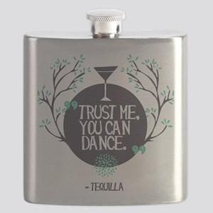 Dance on Tequila Flask