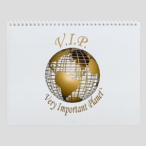 Wall Calendar VIP Planet