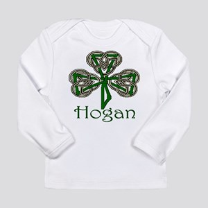 Hogan Shamrock Long Sleeve Infant T-Shirt