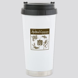 """Media Myth"" Stainless Steel Travel Mug"