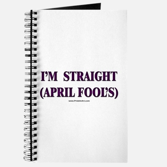 I'm Straight - April Fool's Journal