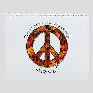 Wall Calendar Peace Fall