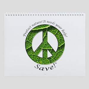 Wall Calendar Peace Plant