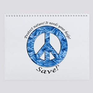 Wall Calendar Peace Water