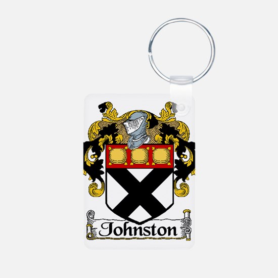 Johnston Arms Aluminum Photo Keychain
