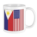 Philippine and US Flags Mug