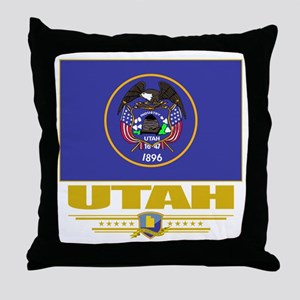 Utah Pride Throw Pillow