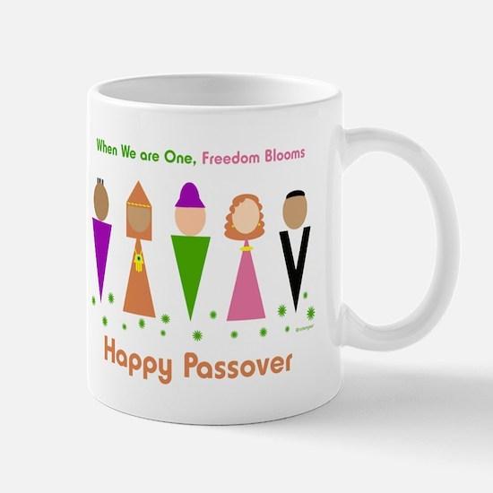 Jewish Diversity Passover Mug