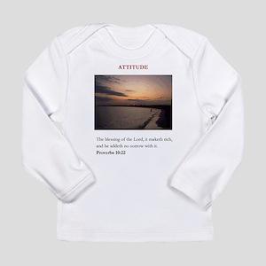 Attitude 2 Long Sleeve Infant T-Shirt