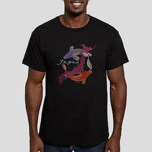 JAPAN RELIEF 2011 Men's Fitted T-Shirt (dark)