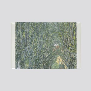 Avenue of Trees Rectangle Magnet