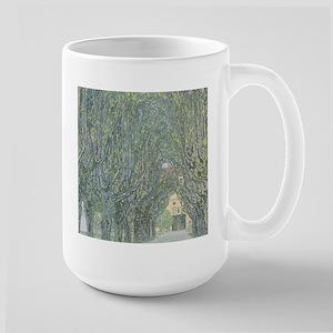 Avenue of Trees Large Mug
