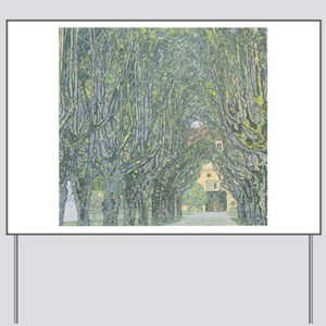 Avenue of Trees Yard Sign