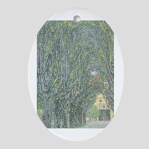Avenue of Trees Ornament (Oval)