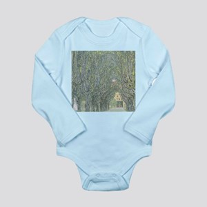 Avenue of Trees Long Sleeve Infant Bodysuit