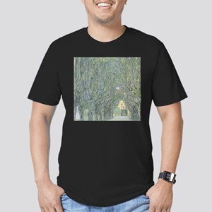 Avenue of Trees Men's Fitted T-Shirt (dark)
