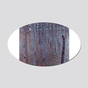 Beeches 22x14 Oval Wall Peel
