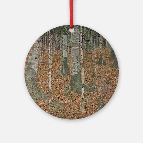 Birch Forest Ornament (Round)