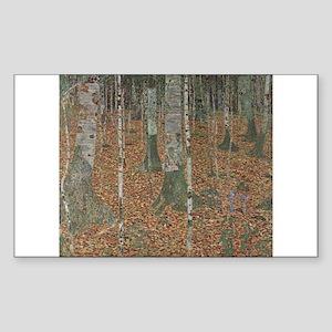 Birch Forest Sticker (Rectangle)
