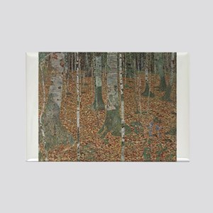 Birch Forest Rectangle Magnet