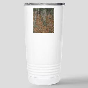 Birch Forest Stainless Steel Travel Mug