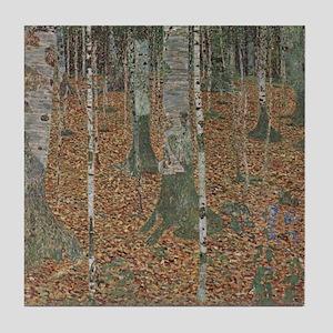 Birch Forest Tile Coaster