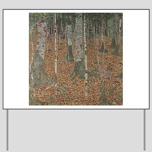 Birch Forest Yard Sign