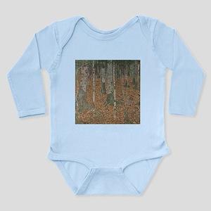 Birch Forest Long Sleeve Infant Bodysuit