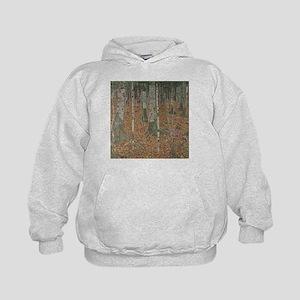Birch Forest Kids Hoodie