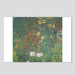 Country Garden with Sunflower Postcards (Package o