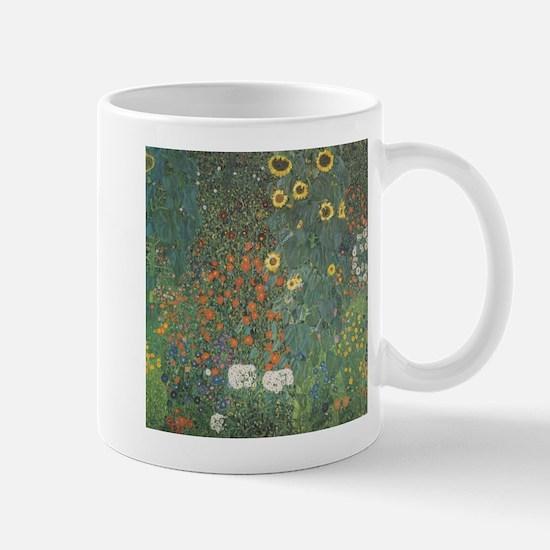 Country Garden with Sunflower Mug