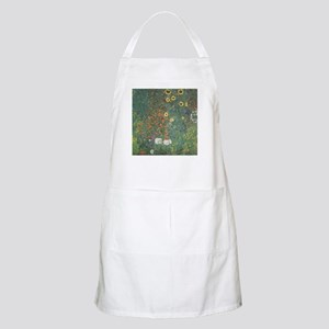 Country Garden with Sunflower Apron