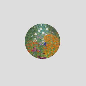 Flower Garden Mini Button