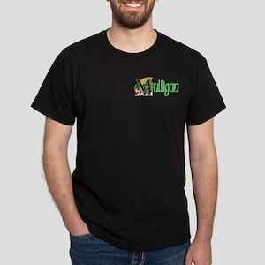 Mulligan Green 2 Celtic Dragon Dark T-Shirt